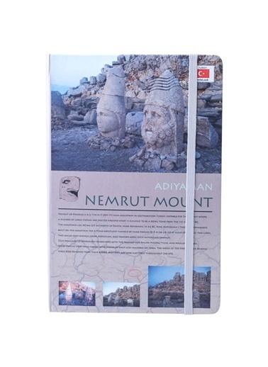 Scrikss Travel Around Türkiye Nemrut Dağı A6 Çizgili Defter Renkli